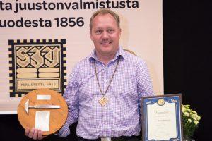 Vuoden juustomestari 2016 Peter Dörig